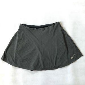 Nike Zonal Cooling Gray Tennis, Active Skort Sz LT
